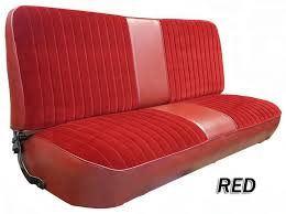 Dodge Truck Bench Seat 1973 79 F Series Ford Truck Vinyl U0026 Cloth Bench Seat Cover 2inch