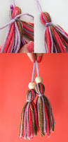 quick craft 2 minute yarn tassel my poppet makes