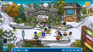 guia la fiesta monster university en club penguin 2013