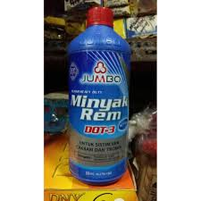 Minyak Rem jumbo dot 3 brake fluid minyak rem netral merah 946 ml original