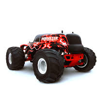 monster jam rc trucks hsp monster truck special edition red rc truck at hobby warehouse
