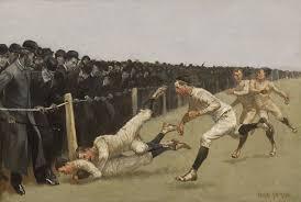 frederic remington touchdown yale vs princeton thanksgiving
