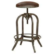 home loft concepts adjustable height swivel bar stool walmart com