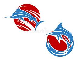 blue marlin fish stock vector illustration of 32755111