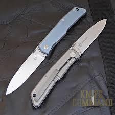 fox knives bob terzuola titanium framelock knife knifecommand