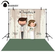 wedding backdrop board aliexpress buy allenjoy photography backdrop wooden board