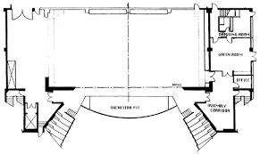 drawings and information zellerbach auditorium facilities