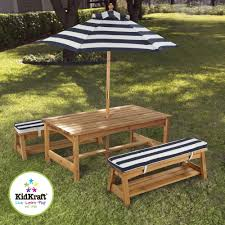 patio table and bench kidkraft outdoor table and bench set fairy blossom and friends