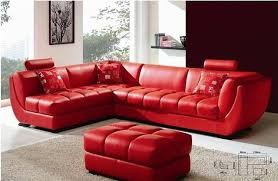 Red Sofa Set by Fancy Red Sofa Set Vs Room Ideas With Red Leather Sofa Modern With