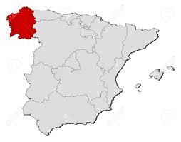 Spain On The Map by Spain Map Galicia U2013 World Map Weltkarte Peta Dunia Mapa Del