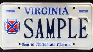 Battle Flags Of The Confederacy Virginia Recalling Specialty License Plates With Confederate Flag