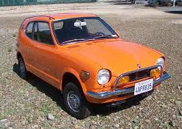 smallest honda car car of the week 1972 honda z600 cars weekly