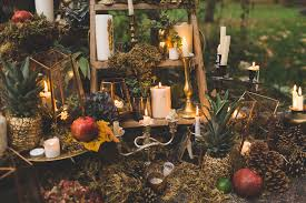 autumn wedding ideas magical autumn outdoorsy woodland wedding ideas whimsical