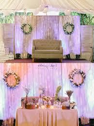 wedding backdrop philippines rustic tagaytay wedding philippines wedding