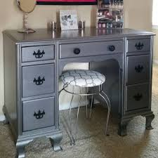 desk turned make up vanity by neat dreams design with modern