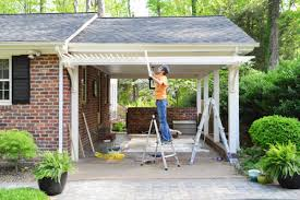 How Much Is A Pergola by Building A Garage Or Carport Pergola Young House Love