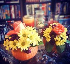 Small Flower Vases Centerpieces Turn Small Pumpkins Into Vases For Your Floral Centerpieces