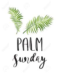 palm branches for palm sunday palm leafs vector icon vector illustration for the christian