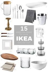 wedding registey ikea wedding list the 25 best ikea wedding ideas on diy