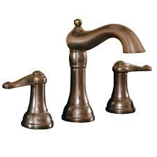 shop aquasource oil rubbed bronze 2 handle widespread watersense