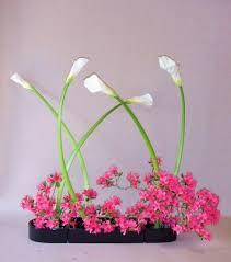 Japanese Flower Artwork - 83 best ikebana images on pinterest japanese flowers flower