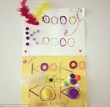 khloe kardashian shares birthday cards from north west penelope