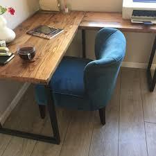 Modern Desk L Shop Industrial Modern Desks On Wanelo