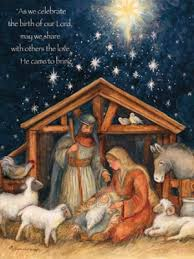 holy family cards box of 18 susan winget
