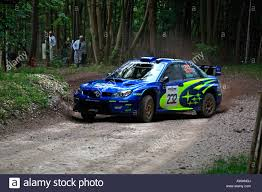 subaru sti rally car colin mcrae subaru impreza rally car cornering goodwood festival