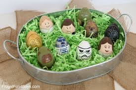 painted easter eggs to make wars painted easter eggs