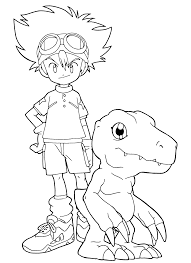 digimon cartoons u2013 printable coloring pages