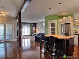 cuisine aire ouverte salon cuisine aire ouverte 0 maison vendu chateauguay immobilier