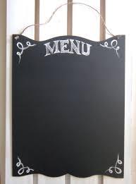 Chalkboard Home Decor Blank Chalkboard Large Menu Rustic Sign Kitchen Chalk Board