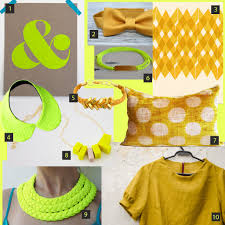 Yellow Mustard Color Color Story Neon Yellow U0026 Mustard U2013 Schatzi Brown