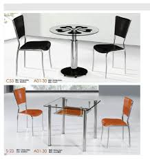 steel top dining table uncategorized stainless steel top dining table with good glass top