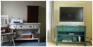 console table tv stand console table upcycled into a tv stand