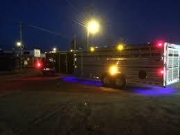 cattle trailer lighted sign exterior lighting supreme trailer sales