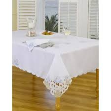 bed bath and beyond christmas table linens tablecloths