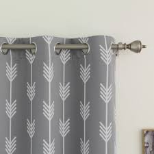 decor linen grommet curtains 96 and curtain rods with grommet