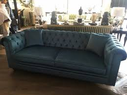 teal chesterfield sofa bespoke handcrafted 3 seater chesterfield sofa in teal velvet in