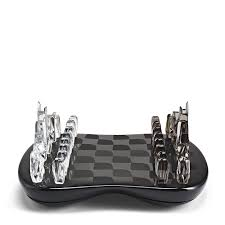 Chess Board Design Zaha Hadid Design Field Of Towers Chess Set Zaha Hadid Design