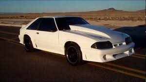 Black Fox Mustang 331 Stroker Foxbody Youtube