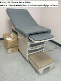 medical exam room tables ritter 204 exam table for sale refurbished used order 858 263 4894