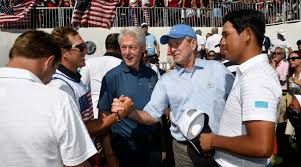 presidents obama clinton and bush steal the show at presidents