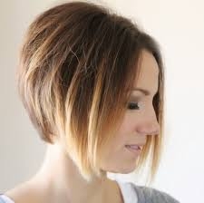 flip hair upsidedown and cut styling an angled bob easy everyday tutorial one little momma