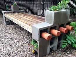 outdoor concrete bench diy concrete benches and tables miami