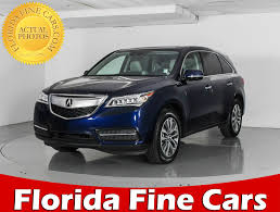 nissan altima 2016 technology package used 2016 acura mdx technology package suv for sale in west palm