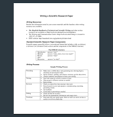 how to make research paper outline research outline template 20 formats examples and samples