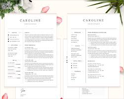 Two Page Resume Professional Resume Template 23 Free U0026 Premium Download