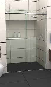 Frameless Shower Door Sliding by Home All Pro Glass And Screen